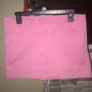 American Eagle pink mini skirt